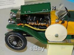 Franklin Mint 1914 Rolls-Royce Silver Ghost Convertible B11XF11 124 Diecast