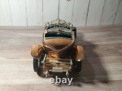 Franklin Mint 1921 Rolls-Royce Silver Ghost 124 Scale Diecast Model Copper Car