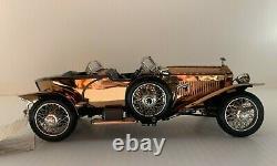Franklin Mint 1921 Rolls Royce Silver Ghost Copper 124