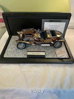 Franklin Mint 1921 Rolls Royce Silver Ghost Copper 124 Scale