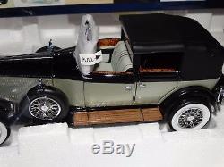 Franklin Mint 1929 Rolls Royce Phantom I Cabriolet DeVille 124 Diecast Car