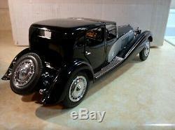 Franklin Mint 1931 Bugatti Royale Coupe De Ville. Near Mint In Box. Rare 1/16
