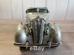 Franklin Mint 1936 Hudson Eight Cabriolet 25th Anniversary 124 Diecast Car LE