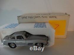 Franklin Mint 1954 Mercedes Benz 300SL Gullwing 124 Diecast B11KC49 Model Car