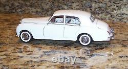 Franklin Mint 1955 Rolls Royce Silver Cloud I White Wedding Ltd Ed Diecast Model