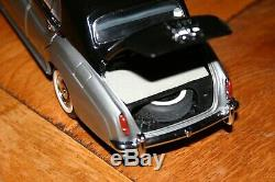 Franklin Mint 1955 Rolls Royce Silver Cloud In Oyster Grey And Masson's Black
