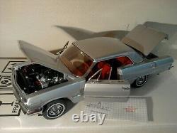 Franklin Mint 1963 Chevy Impala. Rare Ss409.124. Nos. Docs. Undisplayed. Mint