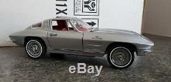 Franklin Mint 1963 Corvette Z06 Fuelie Split Window Coupe Fiberglass Ed MIB