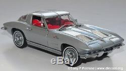 Franklin Mint 1963 Corvette Z06 Split Window Fiberglass Edition 124 UNOPENED