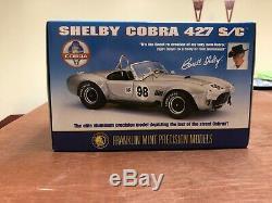 Franklin Mint 1966 All Aluminum Cobra 124 Scale Mint New In Box