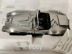 Franklin Mint 1966 Shelby Cobra 427 S/C in Aluminum 1/24 Scale New In Box