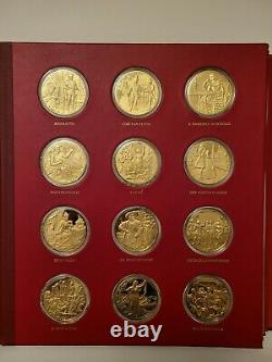 Franklin Mint 1973-78 Opera's Most Beautiful Moments 60 Sterling Silver Medals