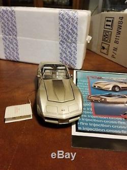 Franklin Mint 1982 Chevy Corvette Ltd. Collectors Edition # 1175 of 6759