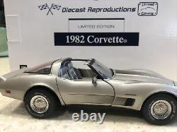 Franklin Mint 1982 Corvette Limited Collector Edition LE Of 6759 Rare Box & COA