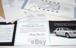 Franklin Mint 1998 Rolls-Royce Silver Seraph MIB. 577=Myref
