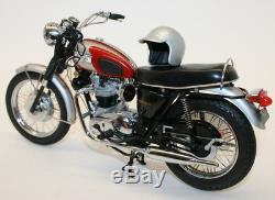 Franklin Mint 1/10 Scale Metal Model Bike B11XN71 1969 Triumph Bonneville
