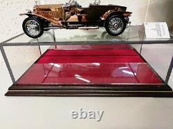 Franklin Mint 1 /24 Precision Diecast 1921 Rolls Royce Silver Ghost In Copper