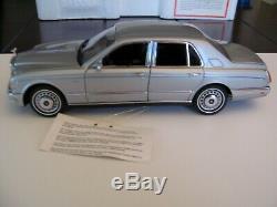 Franklin Mint 1 24 scale The 1998 Rolls-Royce Silver Seraph