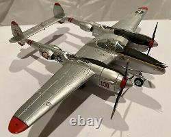 Franklin Mint 1/48 Armour Collection P-38-J Lighting Pudgy Art98113 Used Cond