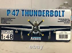 Franklin Mint Armour Collection P47 D Thunderbolt Tarheel Hal #98150 WWII