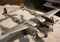 Franklin Mint Armour P-38 Putt Putt Maru USAAF 1/48 scale diecast B11B283