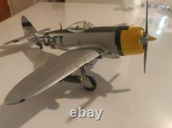 Franklin Mint Armour Republic P-47D Thunderbolt USAAF Eagleston WW2 ACES B11B296