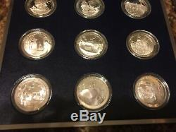 Franklin Mint Bicentennial History of United States NAVY Silver Coin Set