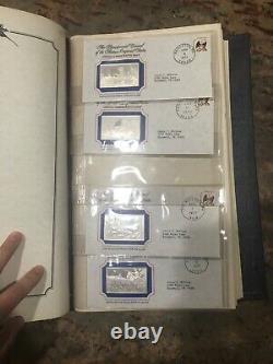 Franklin Mint Bicentennial Proof Sterling Silver Bars Ingots 13 Original States