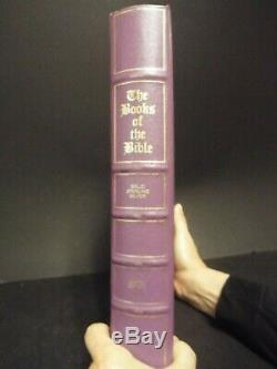 Franklin Mint Books of the Bible Solid Sterling Silver Edition