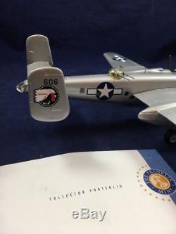 Franklin Mint Collection Armour B-25D Chow Hound Jr' 1/48 Mitchell B11B616