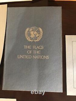 Franklin Mint Flags Of The UN Sterling Silver Mini Ingot Collection COMPLETE