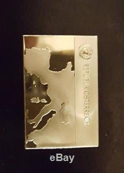 Franklin Mint Flags of the United Nations Sterling Silver Ingots