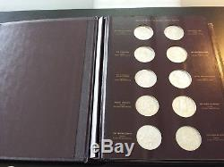 Franklin Mint Genius of Michelangelo Sterling Silver Collection 60 Medallions