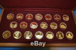Franklin Mint Great American Landmarks Collection Gold-Plated Sterling Silver