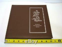 Franklin Mint History of The American Revolution 50 Sterling Medals in album