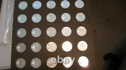 Franklin Mint History of the American Revolution Sterling Silver Set 50pc