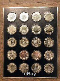 Franklin Mint History of the United States 200 Sterling Silver Medal, 250 oz