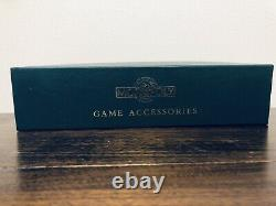 Franklin Mint Monopoly Playing Token Accessories Gold Plated Silver Money Sealed