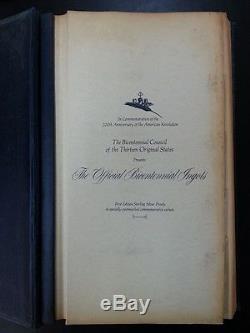 Franklin Mint Official Bicentennial Ingots Sterling Silver (13 Original States)