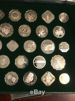 Franklin Mint Official Gaming Coins of Great Casinos Sterling Silver Proof Set