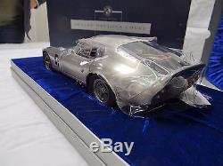 Franklin Mint Pewter 1965 Ford Shelby Cobra Daytona GT LeMans 112 Limited Ed