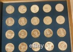 Franklin Mint Presidential Set 35 Coins 26mm Sterling Silver