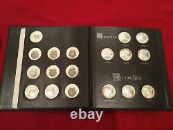 Franklin Mint/Royal Shakespeare Co. Complete Sterling Silver Proof 38 Medal Set