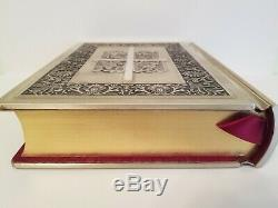 Franklin Mint STERLING SILVER COVER THE NEW AMERICAN CATHOLIC FAMILY BIBLE