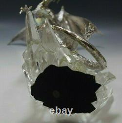 Franklin Mint Silver Guardian On Crystal By Michael Whelan Figurine