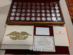 Franklin Mint States of the Union Sterling Governor's Edition Set