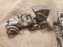 Franklin Mint Sterling Silver Cars Classic Replicas 70.0 Troy Oz # 152438