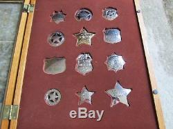 Franklin Mint Sterling Silver The Official Badges Of The Great Western Lawmen
