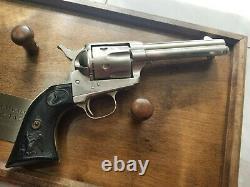 Franklin Mint THE BAT MASTERSON FORTY-FIVE Replica SAA Colt. 45 Revolver with COA