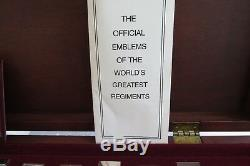Franklin Mint The World's Greatest Regiments Sterling Silver With Coa